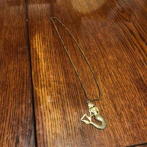 Jewelry - Gold colored Mermaid necklace